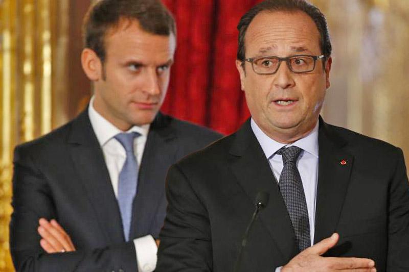 Macron versus Hollande